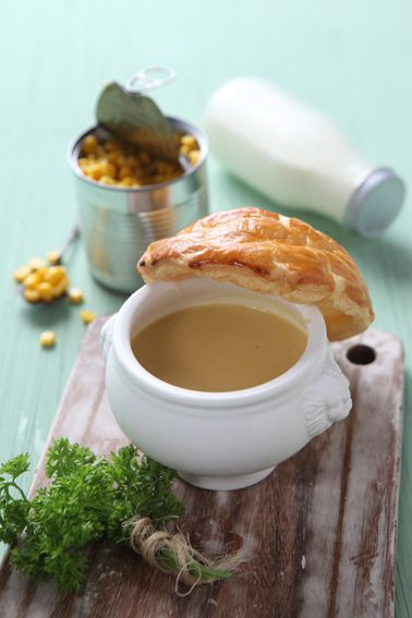 Corn Soup #bakerzin #bakerzinjkt #soup