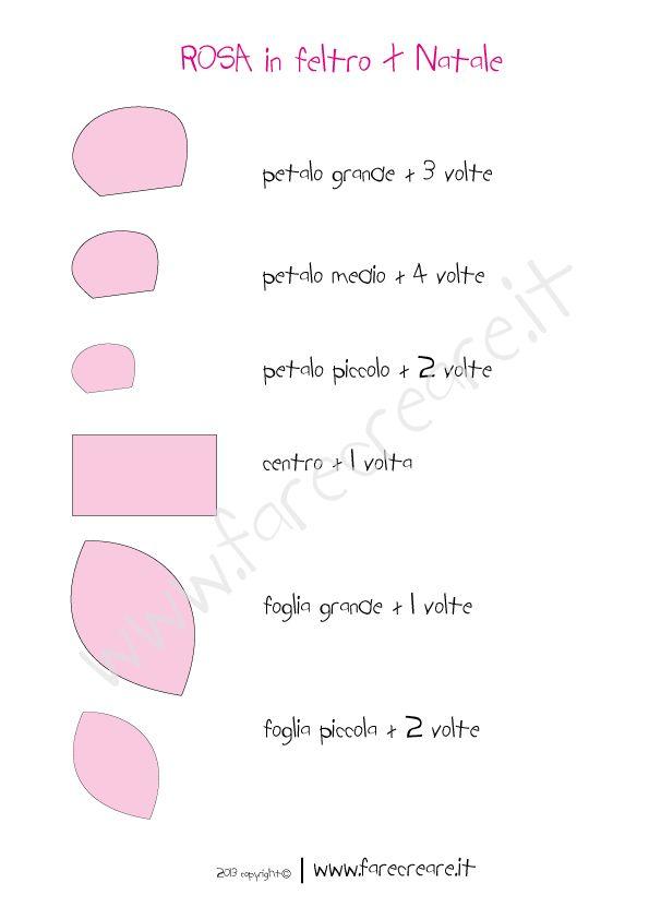 rosa-in-feltro-schema-taglio.png (595×842)