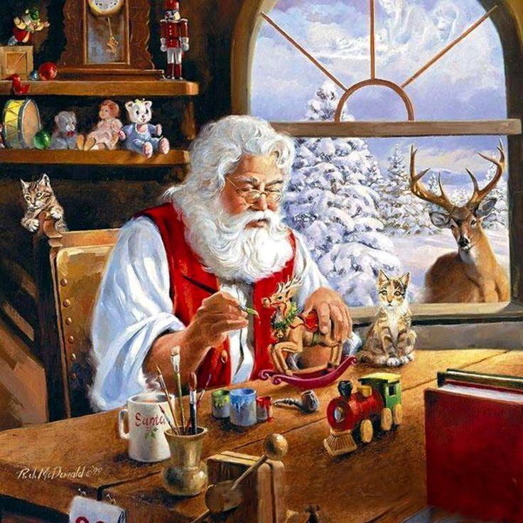 levkonoe: R.McDonald/ Санта-Клаус экономит на подарках!
