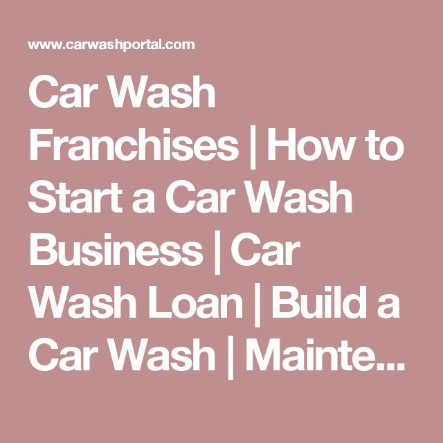 Best 25+ Car Wash Business Ideas On Pinterest | Car Wash Services