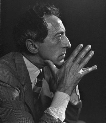 Jean Cocteau, writer, film director, artist