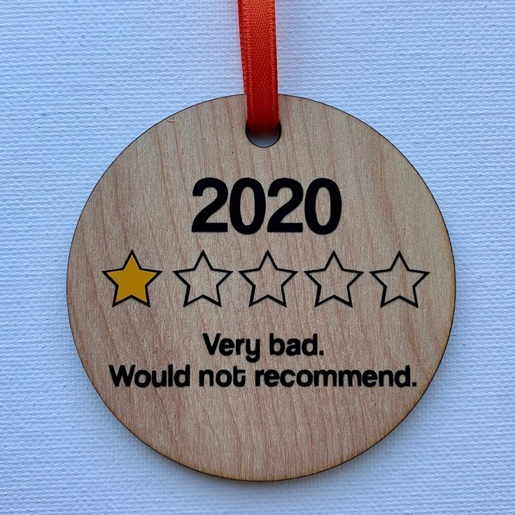 2020 Review Ornament Christmas Ornament Sassy Decor