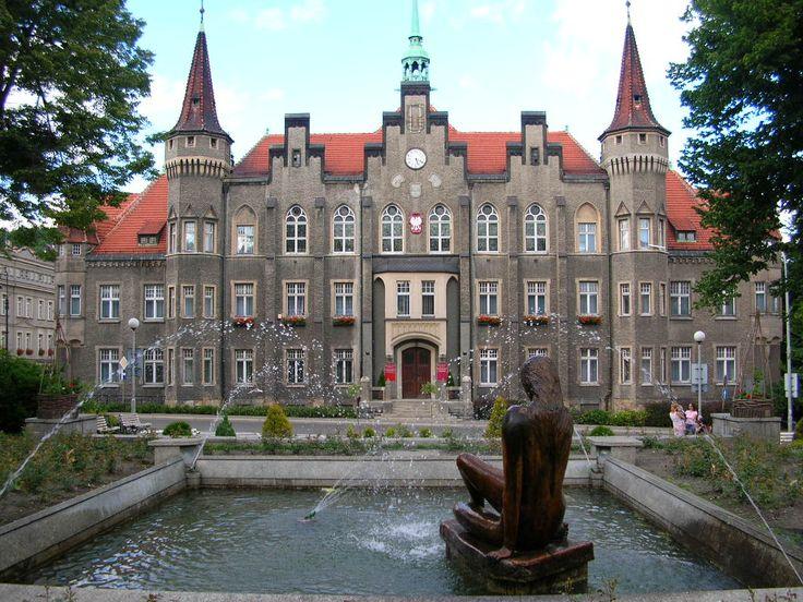 Wałbrzych - The Town Hall.