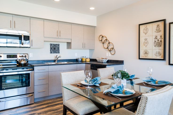 Expertly styled kitchens.  Find your dream #Winnipeg rental home!