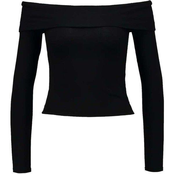 Miss Selfridge BARDOT T-shirt långärmad ❤ liked on Polyvore featuring tops, t-shirts, miss selfridge and miss selfridge tops