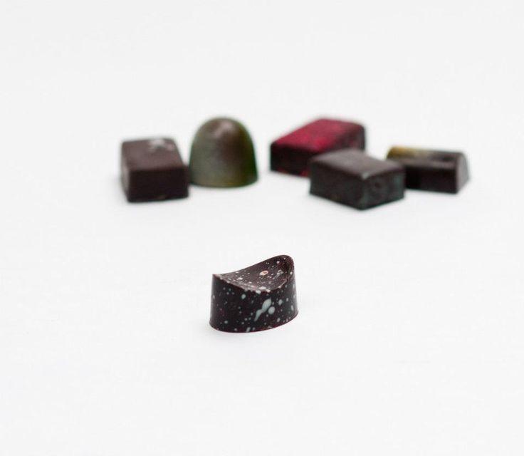 Selectie van bonbons