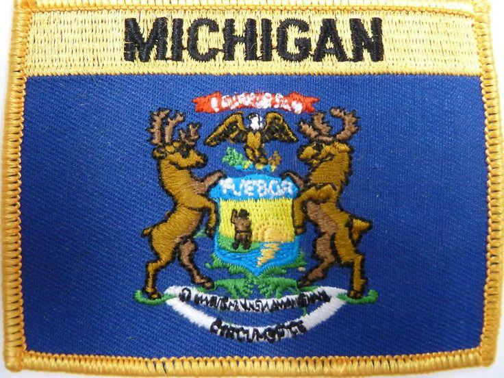 Michigan State Patch / Michigan Flag