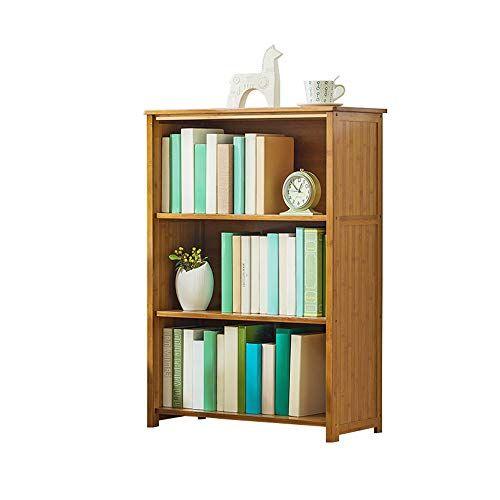 Feiqiangqiang Bookshelf Solid Wood Floor Storage Simple