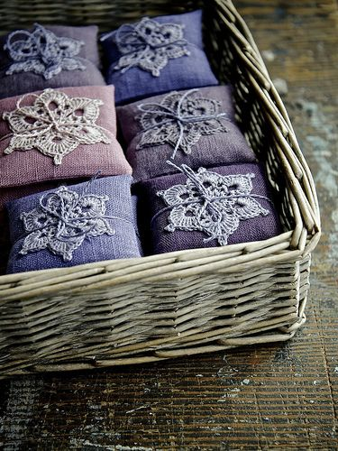 Lavender bags | Restocked shelves at Gorgeous Gerties today.… | namolio | Flickr