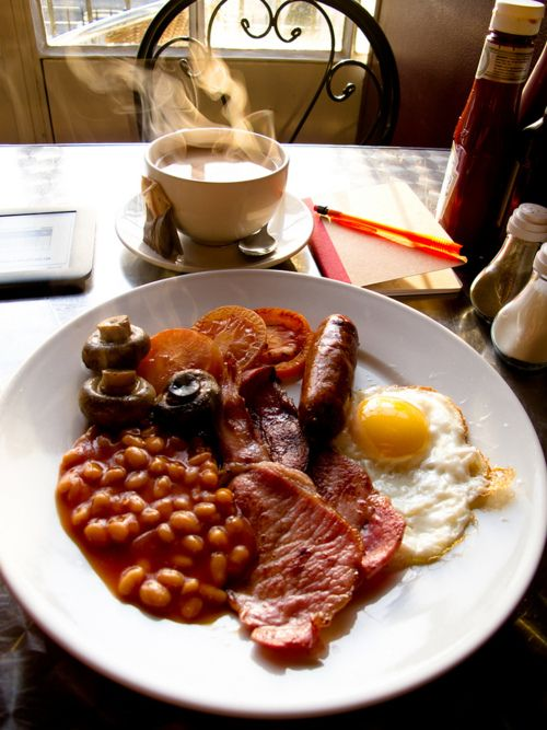 Full English Breakfast: the most adventurous (and rewarding) hangover cure known to man.