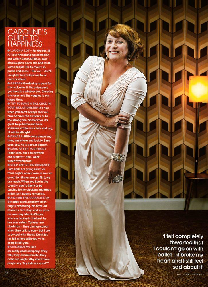 Caroline Quentin for You Magazine
