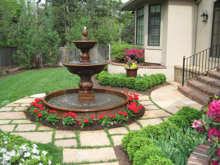 Nothing Makes A Better Garden Focal Point Than A Fountain Or Garden