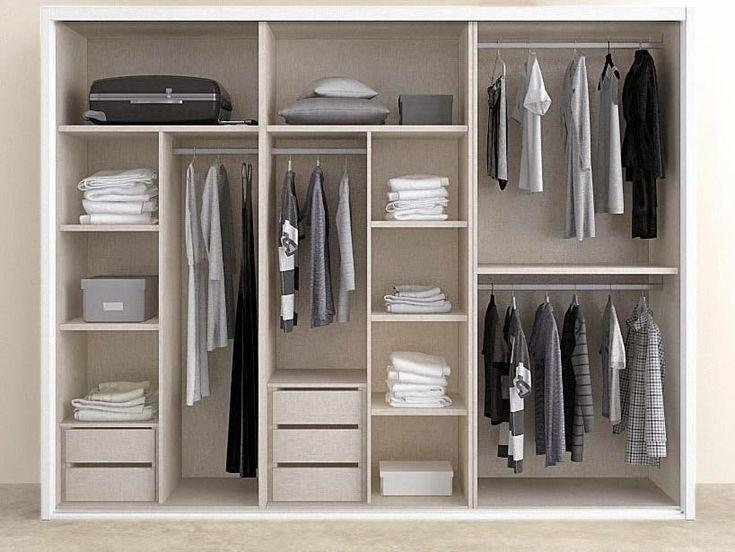 17 mejores im genes sobre vestidores en pinterest - Distribuciones de armarios empotrados ...