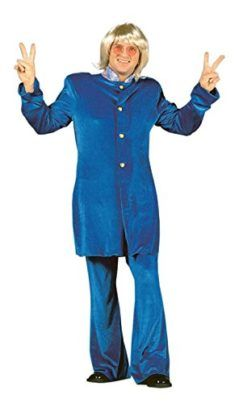 Mens 60s Super Spy Swinger Pop Star Costume Tag a friend who would look good in this! #PopStar #Halloween #Costume