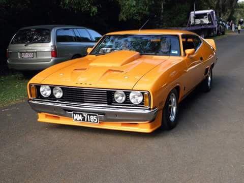 ◆ Visit MACHINE Shop Café... ◆ ~ Aussie Custom Cars & Bikes ~ (1976 Ford XC GT Falcon Coupé)