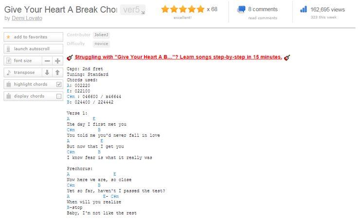 Tell Me You Love Me Chords Httpchordsworlddemi Lovato Tell