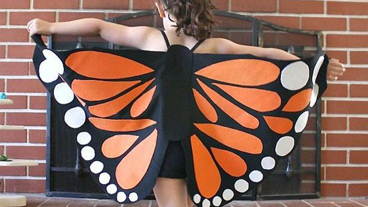 Déguisement enfant Halloween papillon