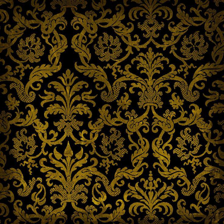 цветной орнамент, скачать фон, текстура, фото, черный узор, black pattern background