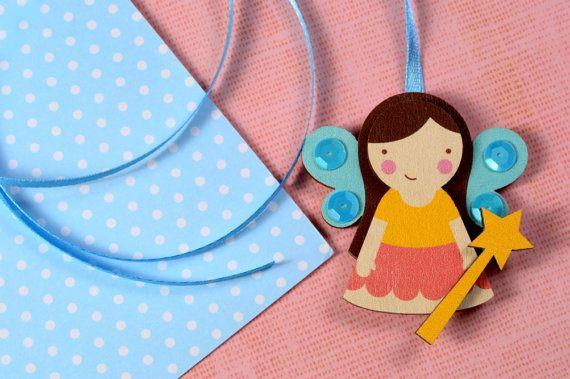 Mintapalinta POP Fairy pendant $17 https://www.etsy.com/listing/209837201/mintapalinta-pop-kids-jewelry-unique