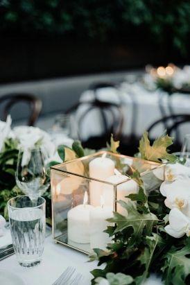 Kristy & Ben's Chic Restaurant Wedding