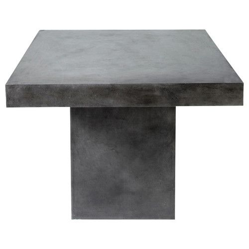Table a diner béton