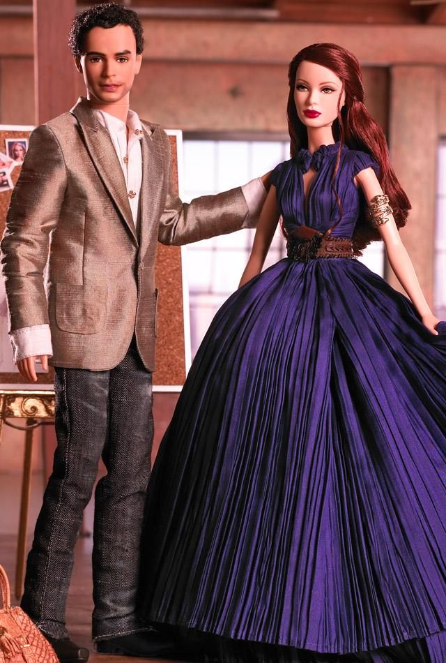 Zac Posen Dress Barbie and Ken