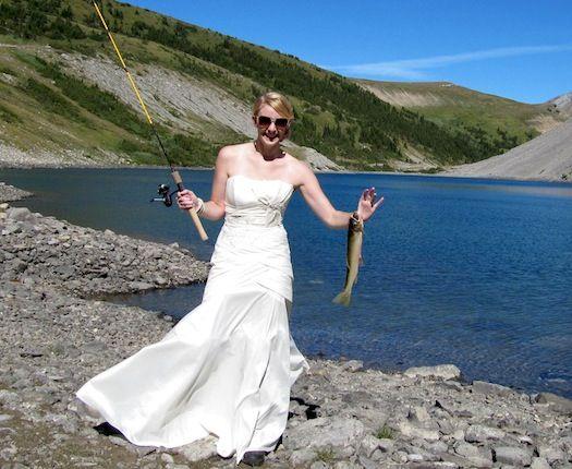 12 Fun fishing themed weddings