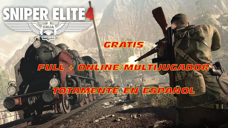 COMO DESCARGAR SNIPER ELITE 4 PARA PC FULL GRATIS/ONLINE/MULTIJUGADOR/STEAM