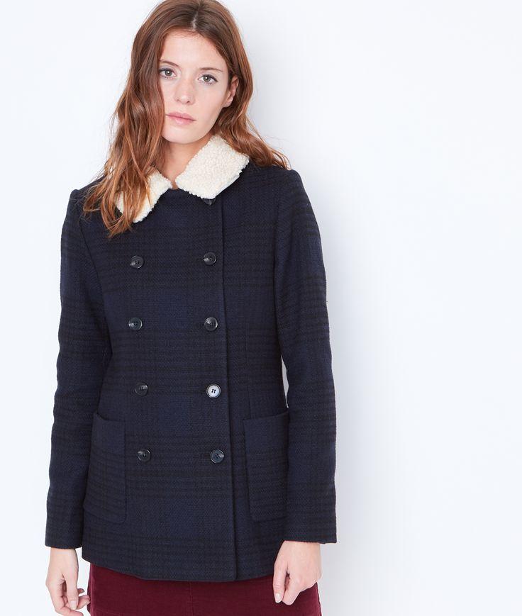 Soldes femme mode hiver avec ETAM, tous les manteaux en laine chic et pas chers sur LE GRAND CATALOGUE