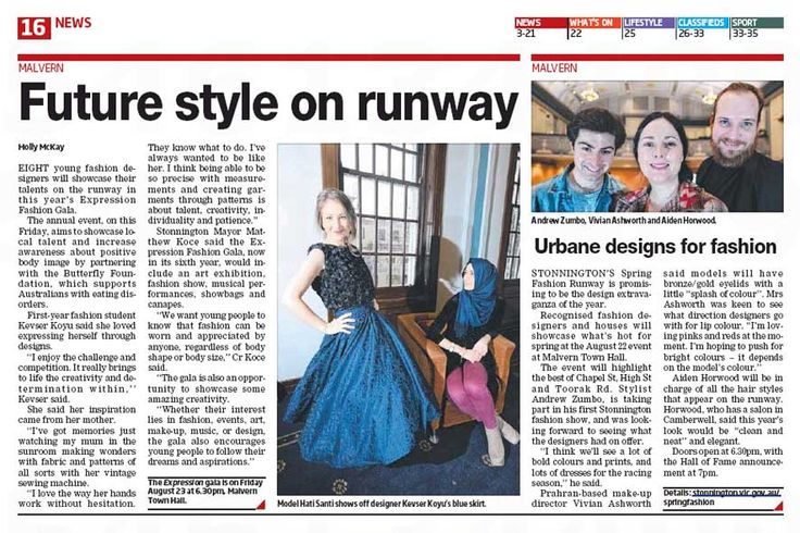 HOHB PRESS > interview with HOHB's, Aiden Horwood, for the Stonnington Leader on all things fashion, runway & Spring Racing! #leadernewspaper #Melbourne #hair #beauty #stylist #press #fashion #springracing #headingouthairandbeauty    http://leader.newspaperdirect.com/epaper/viewer.aspx