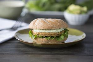 MorningStar Farms® Cilantro Avocado Mediterranean Burgers