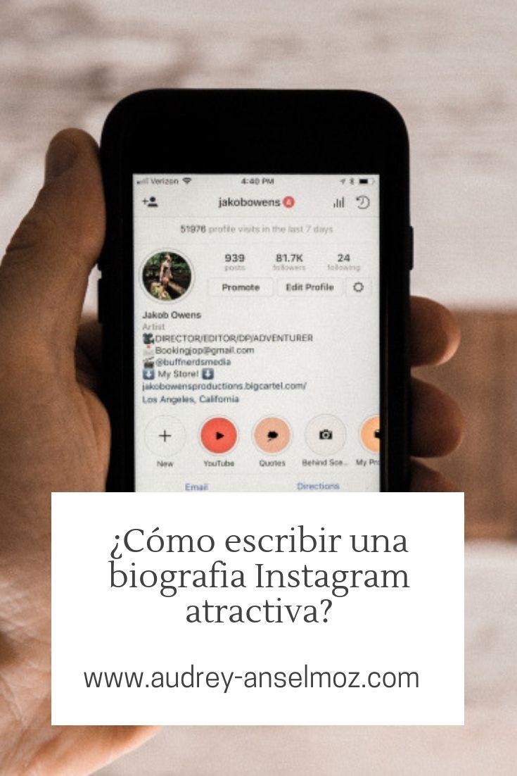 Una Buena Biografia Instagram Te Permite Biografia Buena Instagram Permi Biografías Para Instagram Consejos De Blog Frases Para Biografía De Instagram