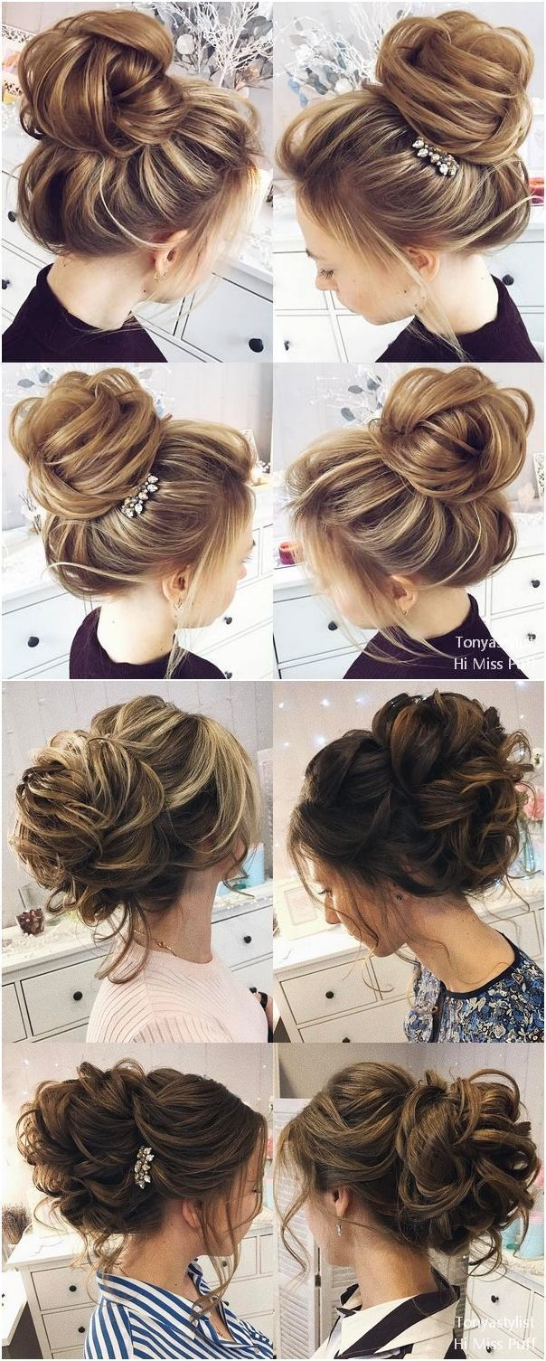 Tonya Pushkareva Long Wedding Hairstyles and Updos #weddings #weddingideas #hairstyles #weddinghairstyles