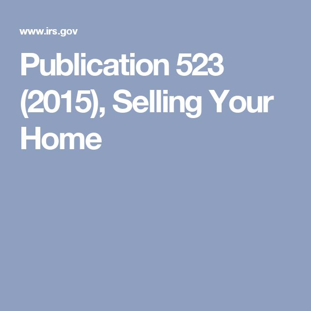 12 Best Selling The House Images On Pinterest Capital Gains Tax