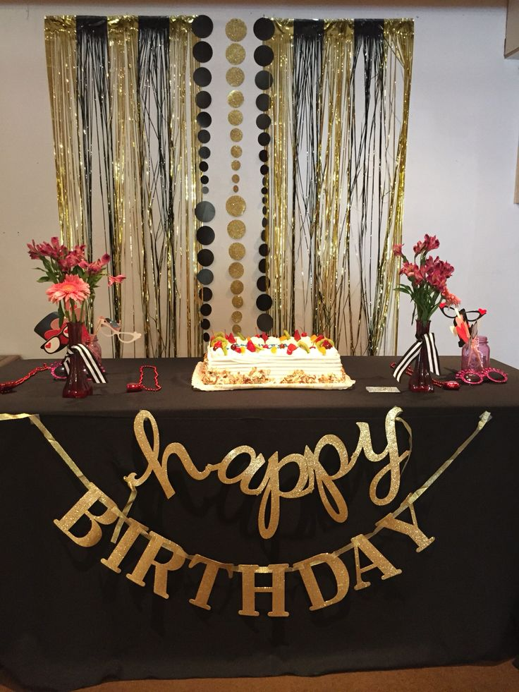 17 best ideas about gold party decorations on pinterest for 60th birthday party decoration