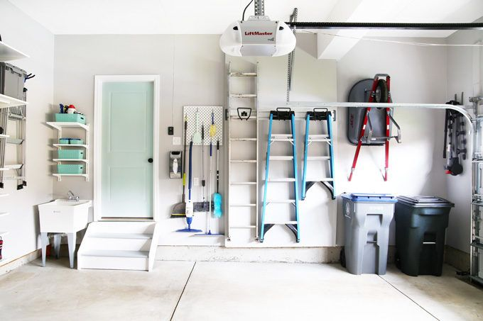 Take a tour of our organized garage and get inspiration and ideas for your own garage organization project! |