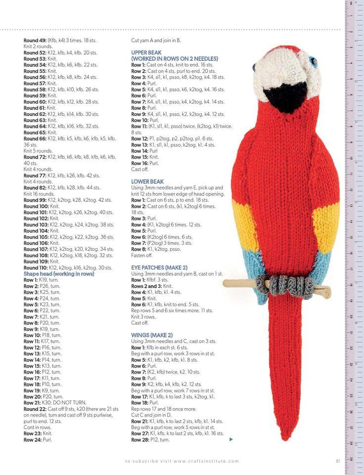 ISSUU - Knitting july 2014 by Camelia July