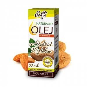 Olej ze Słodkich Migdałów 50 ml tłoczony na zimno ETJA