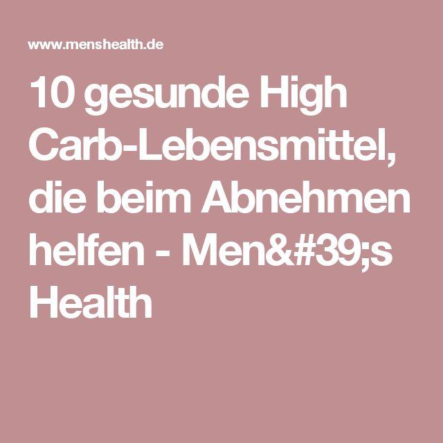 10 gesunde High Carb-Lebensmittel, die beim Abnehmen helfen - Men's Health
