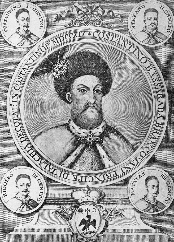 cartea lui Del Ciaro 1718 - stampa Constantin Brâncoveanu si fii sai
