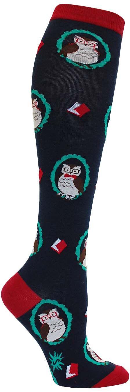 Wise Owl Knee High Socks