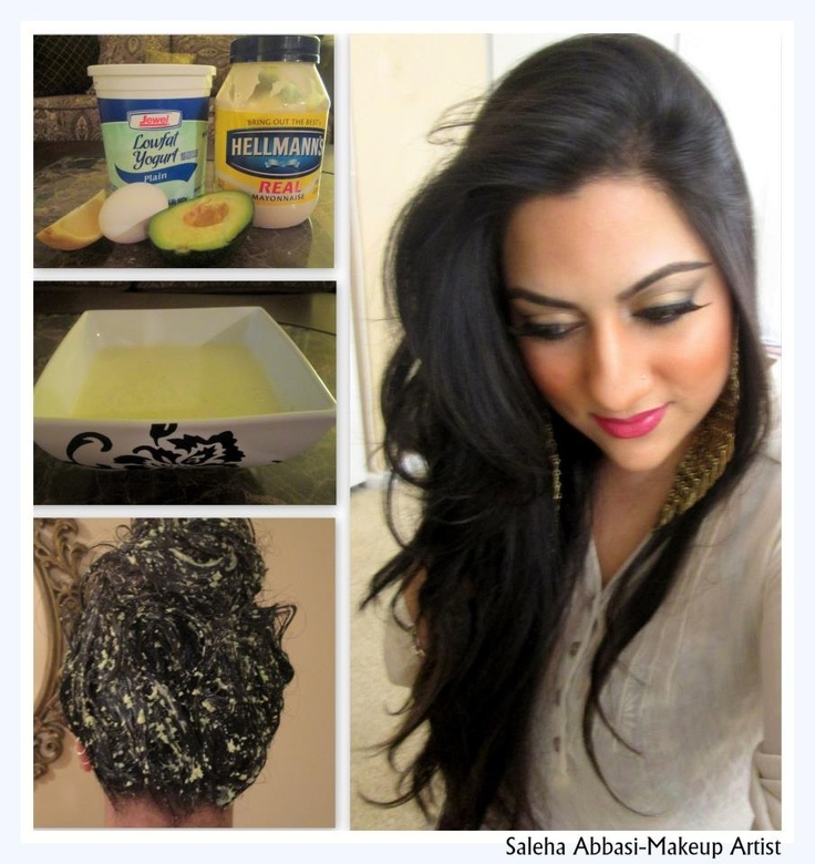 diy hair mask makeup by saleha pinterest diy hair yogurt and blenders. Black Bedroom Furniture Sets. Home Design Ideas