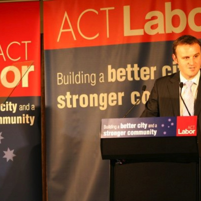 Speaking at ACT Labor Conference in 2008
