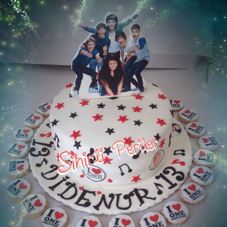 One  direction  cake  One direction doğum günü pastası