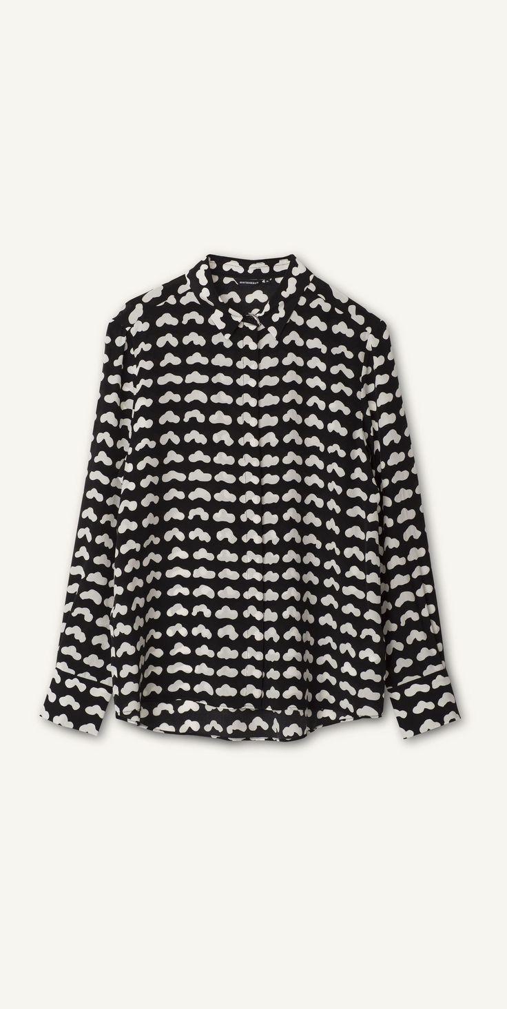 Marimekko Vevet silk shirt AW15