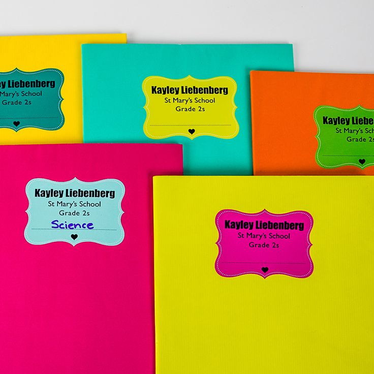 Personalized book labels Order online www.macaroon.co.za