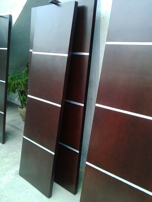 Puertas wengue