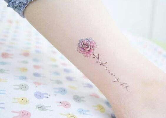 Rose + strength