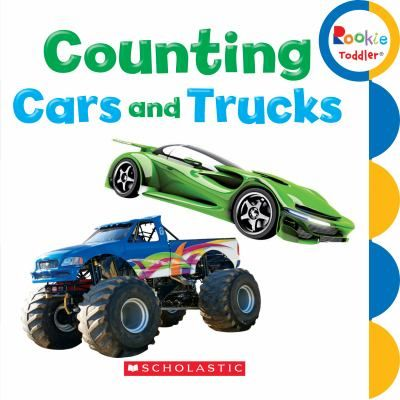 counting cars and truck counts construction vehicles including diggers dump trucks and children reading bookscounting