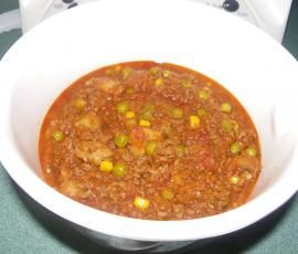 Recipe Savoury Mince by nicky parsons - Recipe of category Main dishes - meat